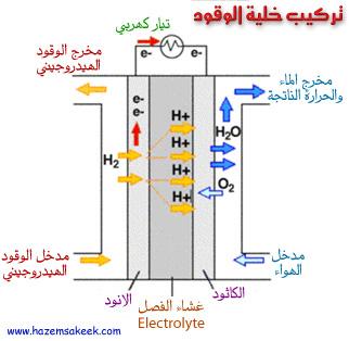 كيف تعمل خلايا الوقود Fuel Cells