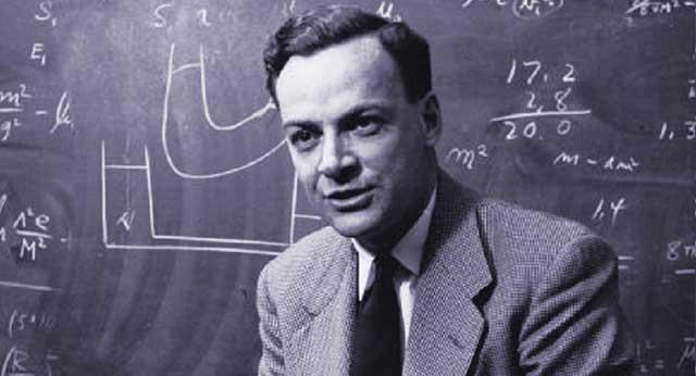 فاينمان والأستاذ ويلر تفسير آخر للمادة المضادة