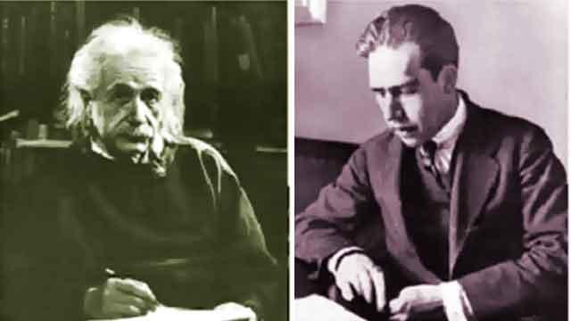 حوار بور وآينشتاين