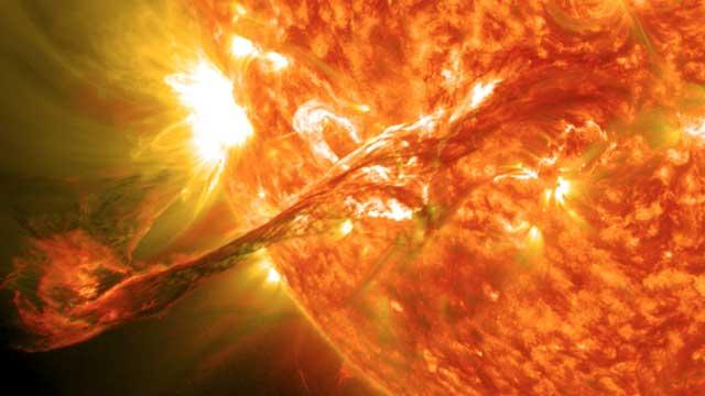 استمع إلى صوت الأرض عند تعرضها لعاصفة شمسية