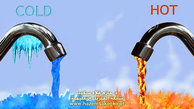 الماء الساخن مقابل الماء: البارد ايهما يطفئ النار أسرع؟
