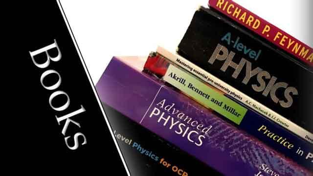 كتبي المفضلة في مرحلة البكالوريس لدراسة الفيزياء