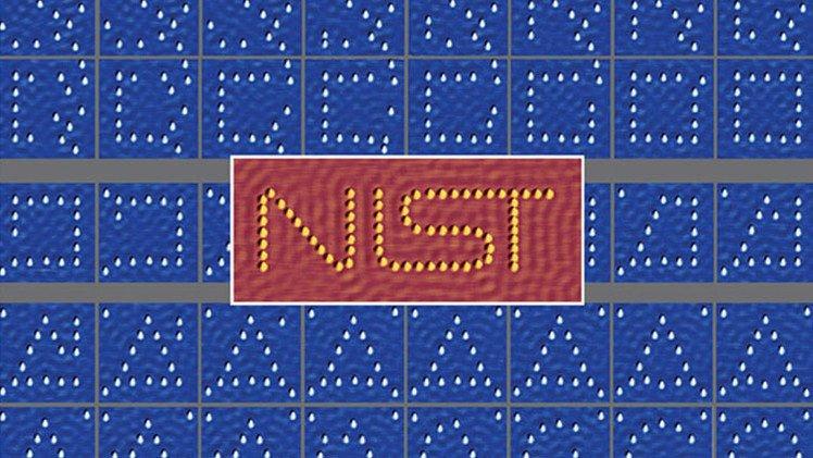 اصغر لوحة في العالم ترسم بالذرات