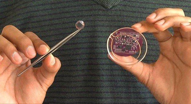 عدسات لاصقة ذكية تكشف عن الحالة الصحة للإنسان