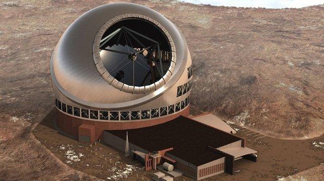إزالة قمة جبل لبناء أضخم تلسكوب في العالم