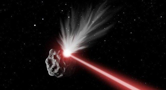اختراع سلاح ليزر يحمي الأرض من أخطار الصخور الفضائية