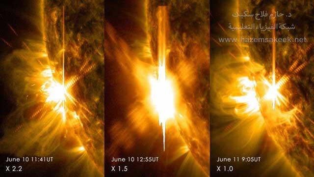 ما هي الرياح الشمسية؟ وكيف تختلف عن التوهجات الشمسية