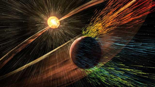 ناسا تخطط لاكساب المريخ درع مغناطيسي لاسترجاع غلافه الجوي