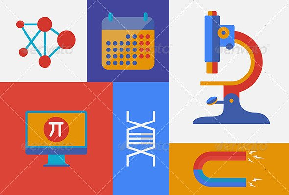 science_research_vector_flat_design_retro_color_equipment_industry_physics_illustration_preview